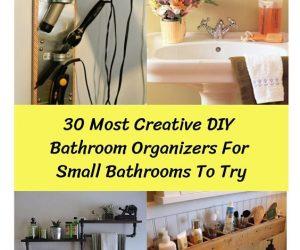 Bathroom Organizers For Small Bathrooms (1)