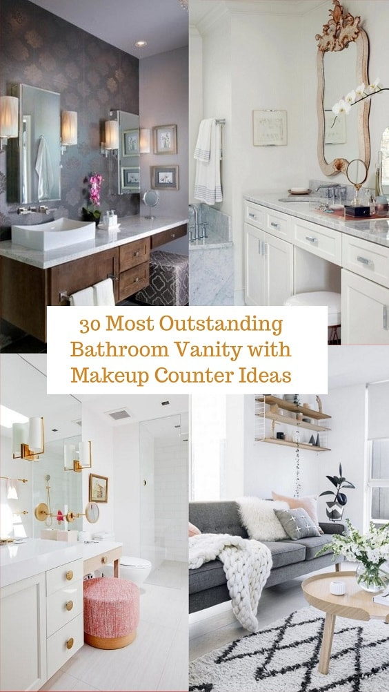 Bathroom Vanity with Makeup Counter (1)-min