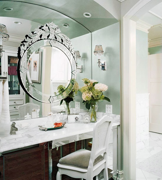 Bathroom Vanity with Makeup Counter Ideas 11-min