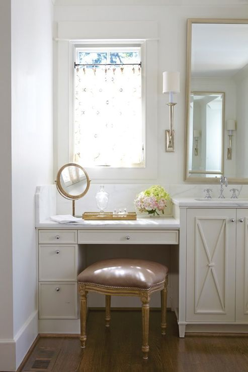 Bathroom Vanity with Makeup Counter Ideas 13-min