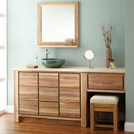 Bathroom Vanity with Makeup Counter Ideas 15-min