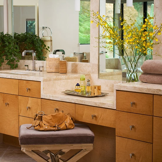 Bathroom Vanity with Makeup Counter Ideas 19-min