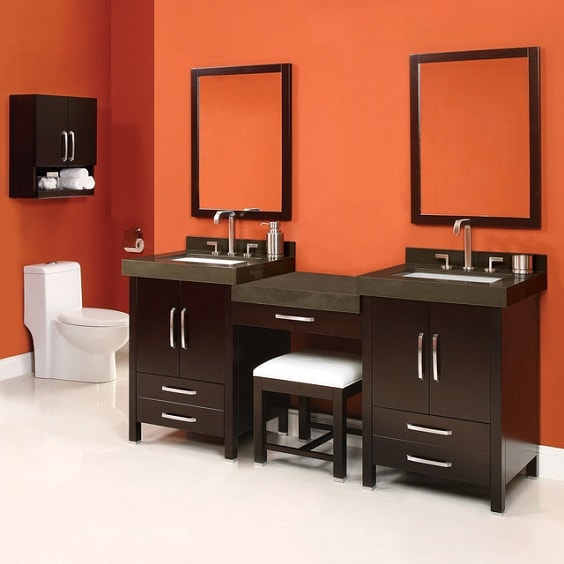 Bathroom Vanity with Makeup Counter Ideas 27-min