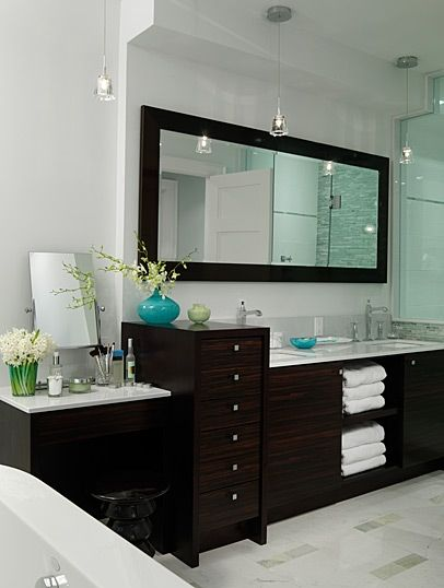 Bathroom Vanity with Makeup Counter Ideas 29-min