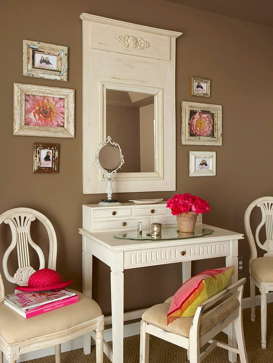Bathroom Vanity with Makeup Counter Ideas 8-min