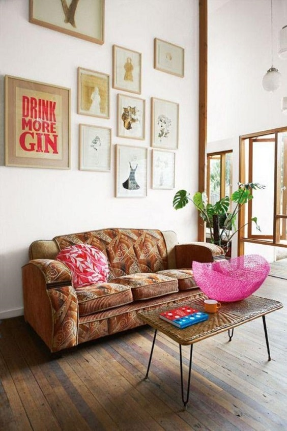 Boho Living Room Decoration 10-min