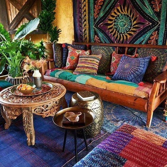 Boho Living Room Decoration 11-min