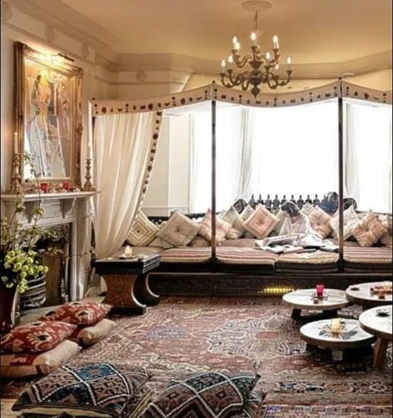 Boho Living Room Decoration 12-min