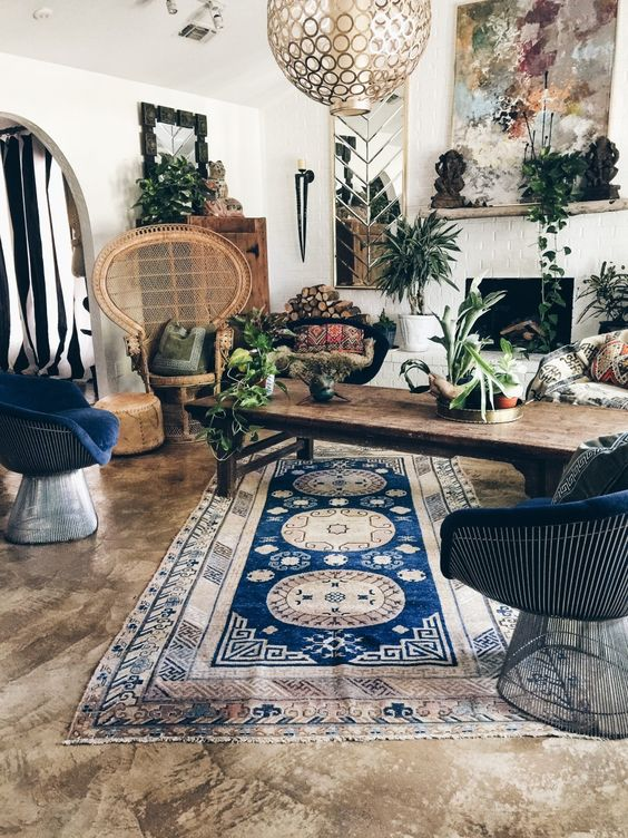 Boho Living Room Decoration 13-min