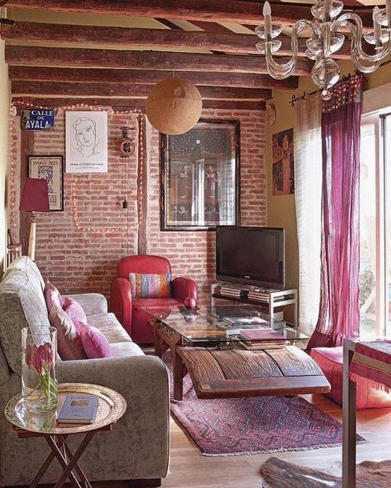 Boho Living Room Decoration 16-min