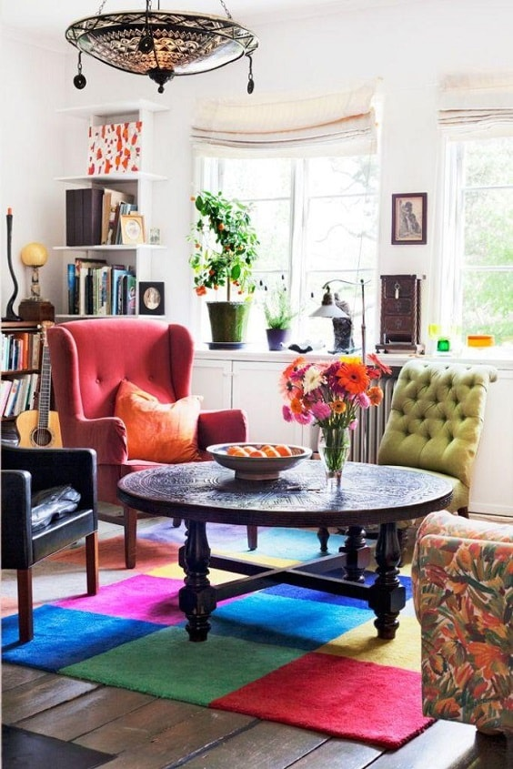 Boho Living Room Decoration 20-min