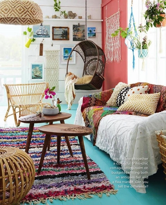 Boho Living Room Decoration 21-min