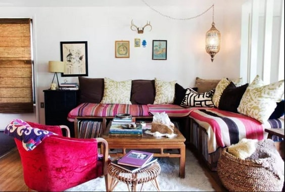 Boho Living Room Decoration 25-min