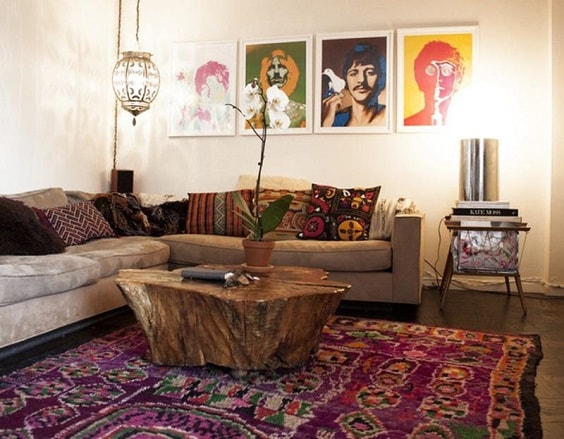 Boho Living Room Decoration 27-min