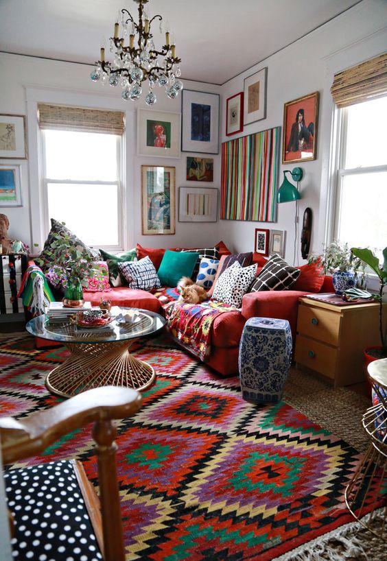 Boho Living Room Decoration 29-min