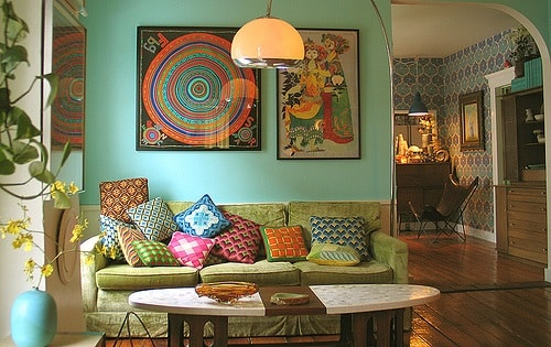 Boho Living Room Decoration 3 Min