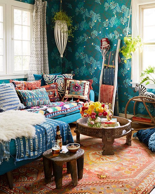 Boho Living Room Decoration 30-min