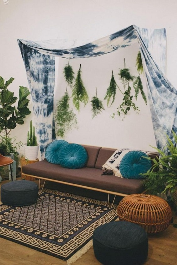 Boho Living Room Decoration 4-min