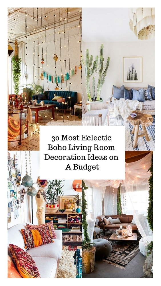 Boho Living Room Decoration-min