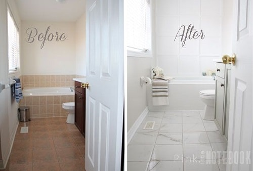 Can You Paint Bathroom Tile 1-min