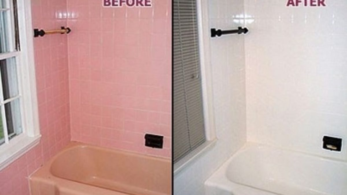 Can You Paint Bathroom Tile Complete, Can You Paint Over Bathroom Tile