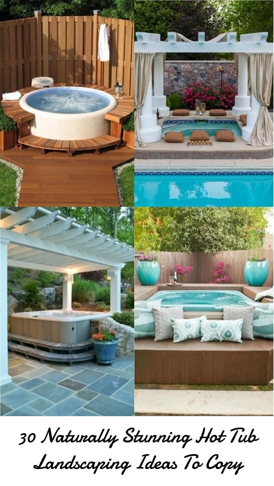 Hot Tub Landscaping-min