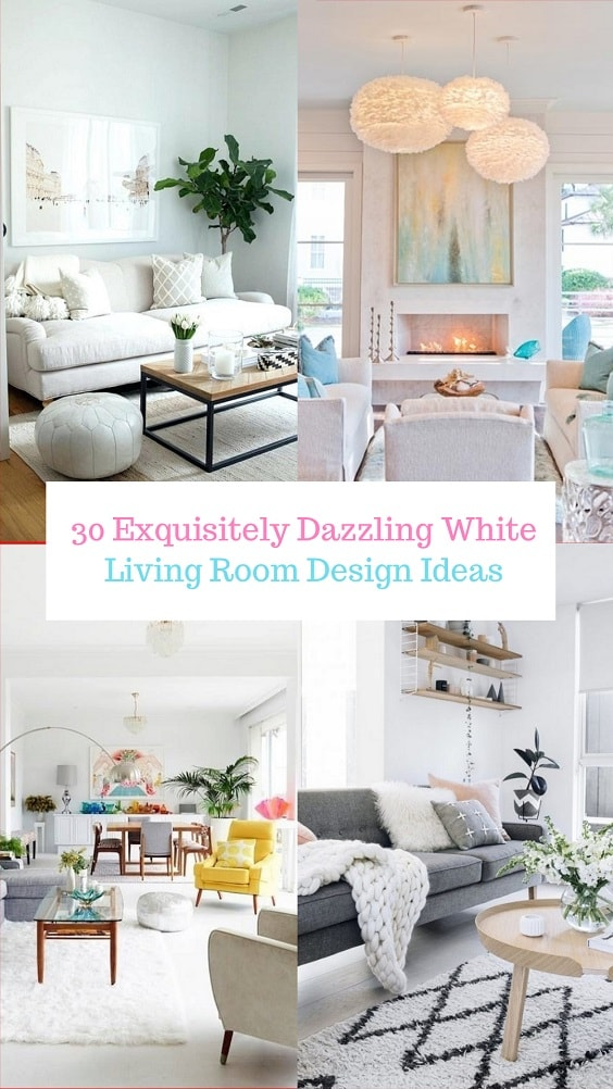 White Living Room-min
