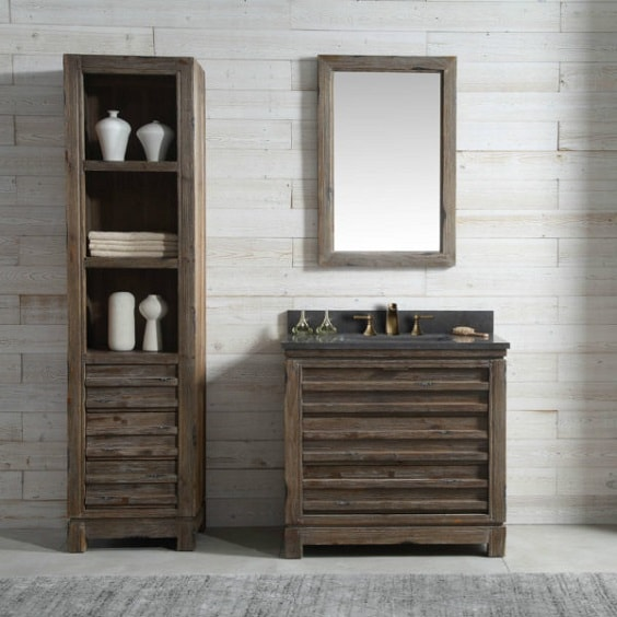 distressed wood bathroom vanity 13-min