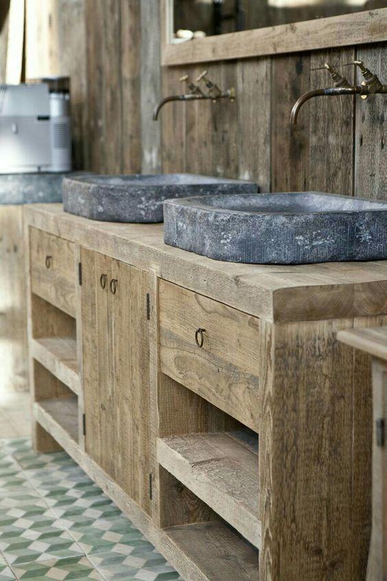 distressed wood bathroom vanity 16-min