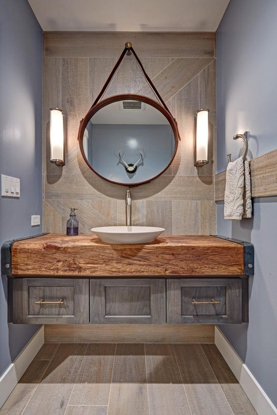 distressed wood bathroom vanity 22-min