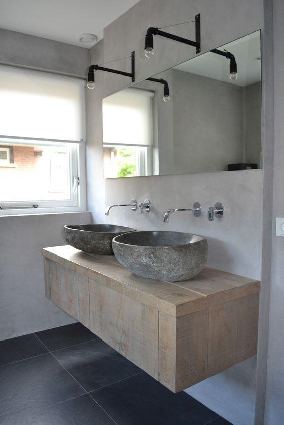 distressed wood bathroom vanity 27-min