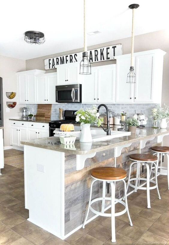 farmhouse kitchen ideas 16