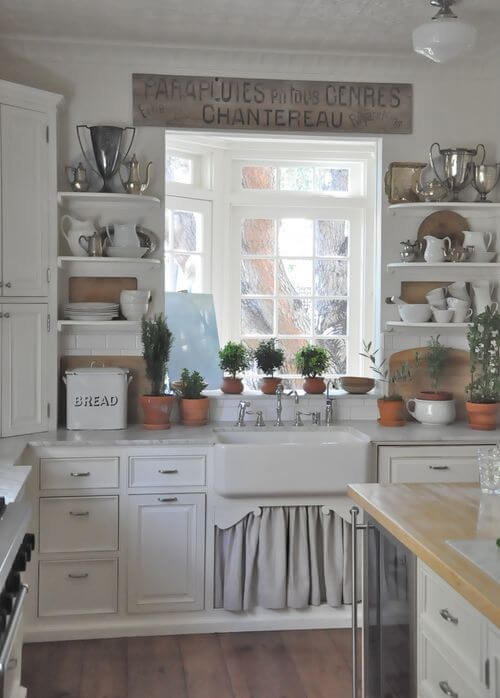 farmhouse kitchen ideas 18