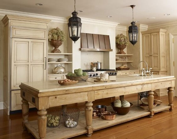 farmhouse kitchen ideas 19