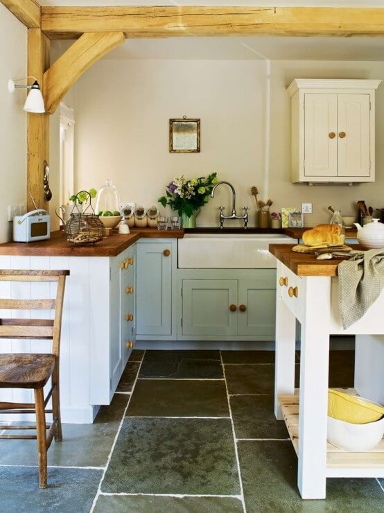 farmhouse kitchen ideas 21