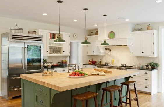 farmhouse kitchen ideas 23