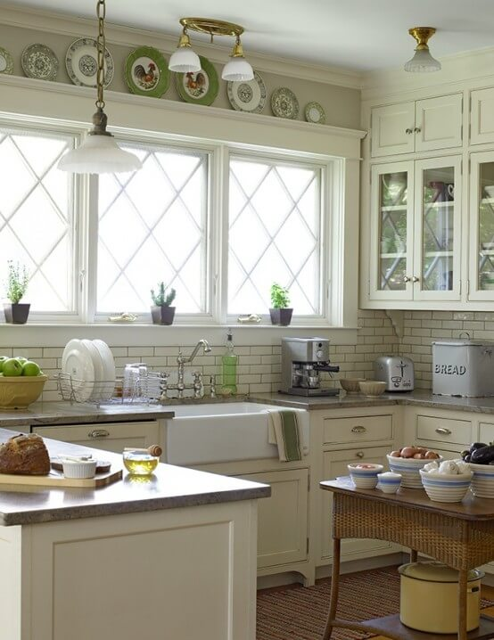 farmhouse kitchen ideas 26
