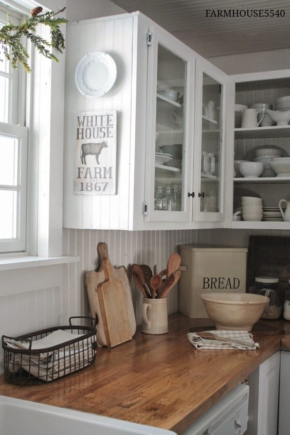 farmhouse kitchen ideas 27