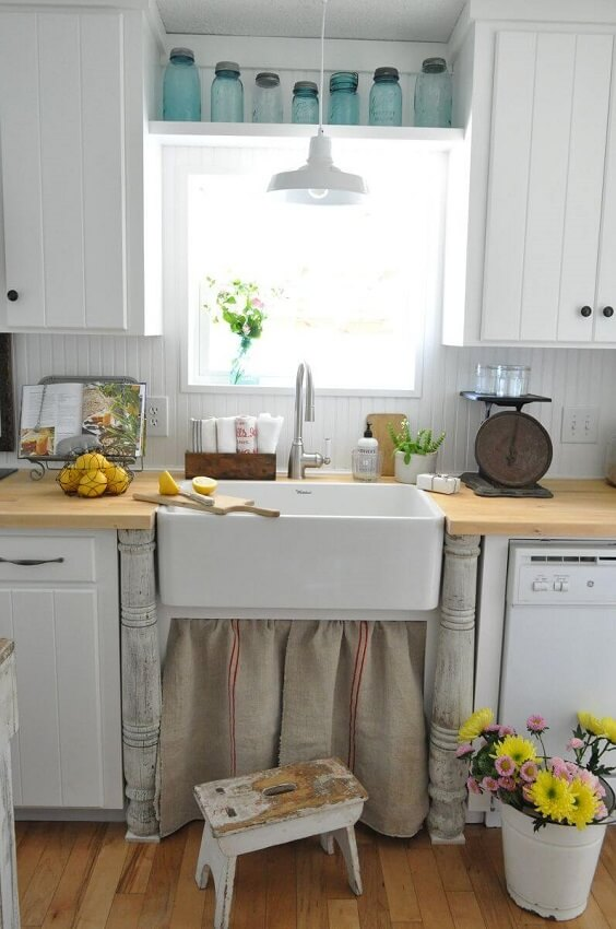 farmhouse kitchen ideas 28