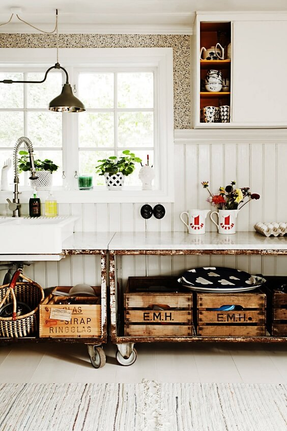 farmhouse kitchen ideas 30