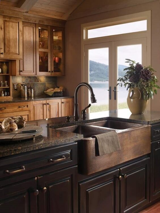farmhouse kitchen ideas 4#
