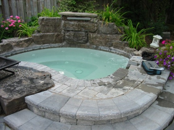 hot tub landscaping 16-min