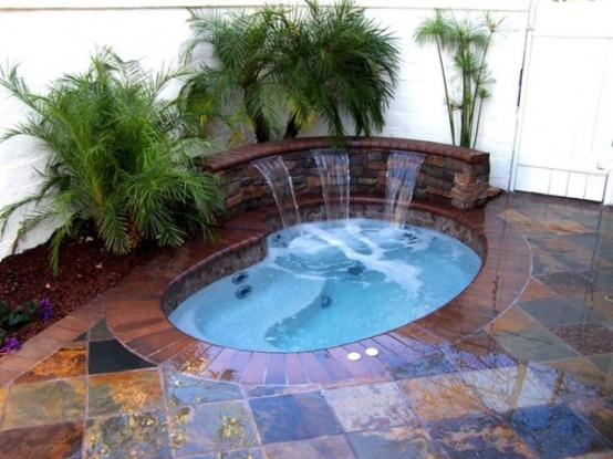 hot tub landscaping 20-min
