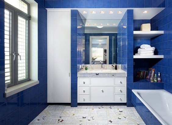 Blue Bathroom 30-min