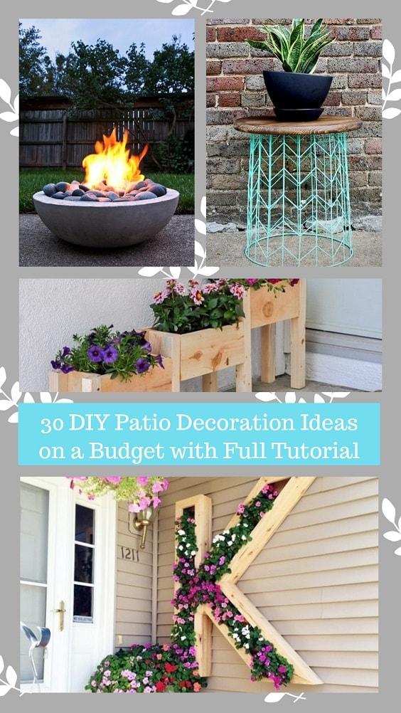 DIY Patio Decoration Ideas-min