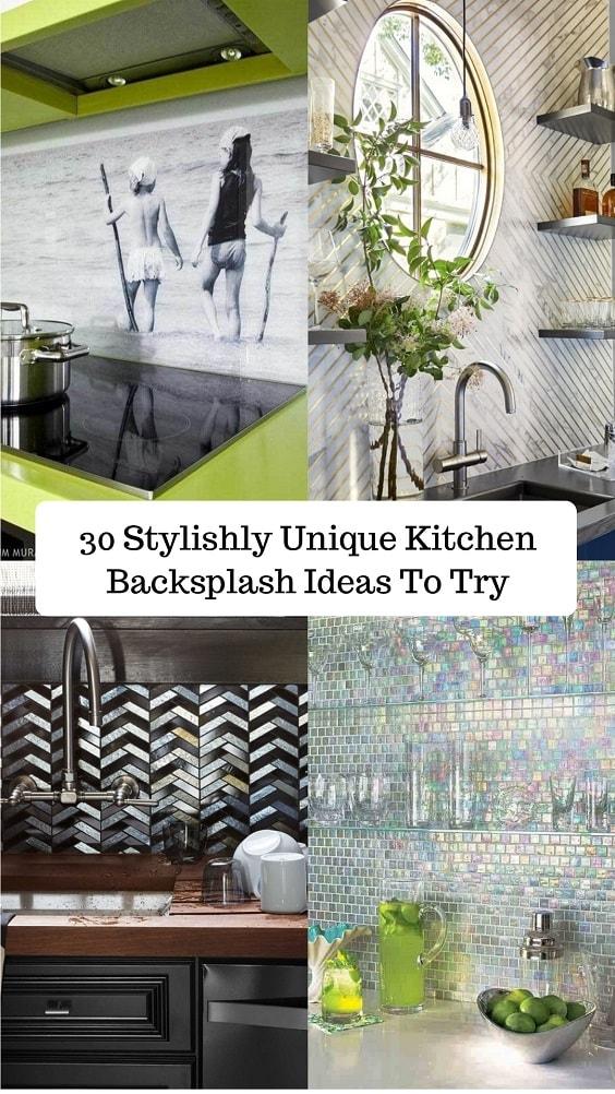 Unique Kitchen Backsplash-min