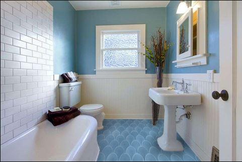 blue bathroom 35