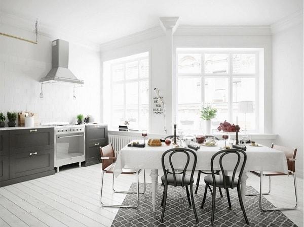 monochrome dining room 12-min