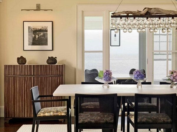 monochrome dining room 17-min