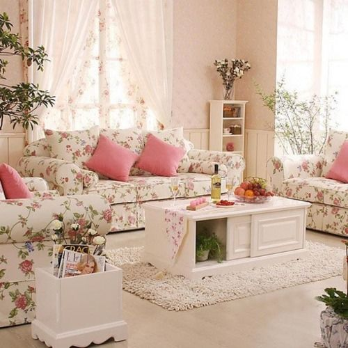 shabby chic living room 12-min